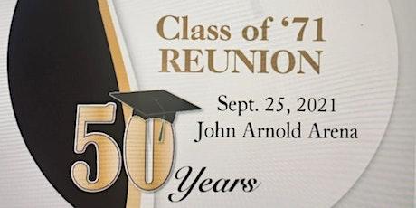 UCHS Class of '71 Reunion tickets