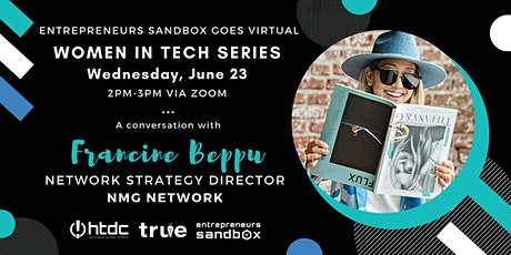 Women in Tech: An Interview with Francine Beppu tickets