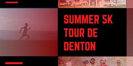 Tour De Denton - Summer 5K tickets