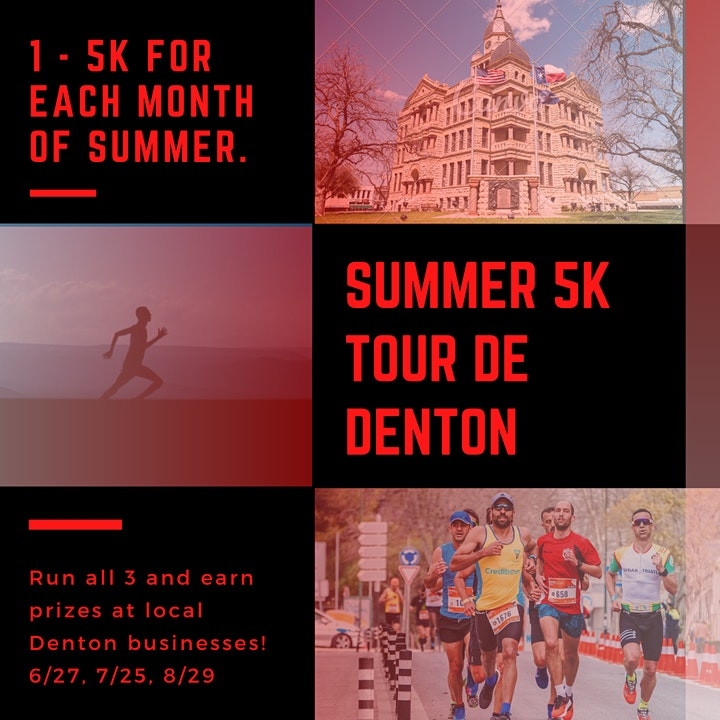 Tour De Denton - Summer 5K image