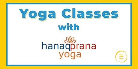 Free Yoga with Hanaq Prana at Epperson Lagoon tickets