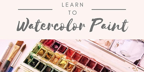Weekly Wednesday Zoom Watercolor Class tickets