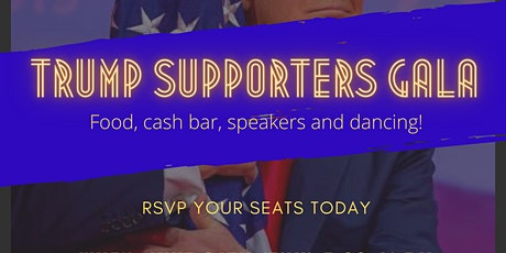 Trump Supporters Gala at the Diplomat West Banquet Hall tickets