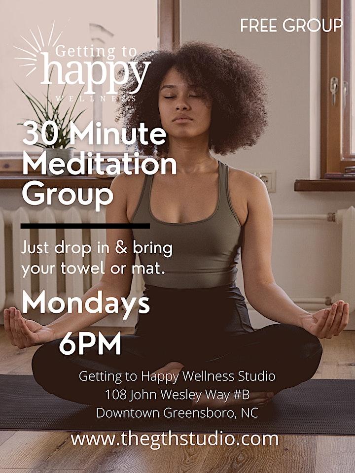 30 Minute Meditation Evening Group image