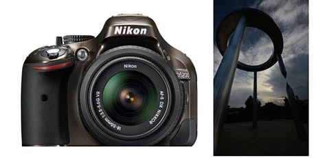 Photography:  NIKON Camera Class  7/06 - 8/03  7PM-8PM Tuesday Weekly tickets