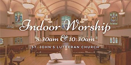 Indoor Worship at St. John's Lutheran Church tickets