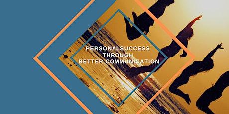 Personal Success Through Better Communication tickets