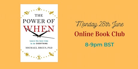 Online Book Club - The Power of When by Michael Breus tickets