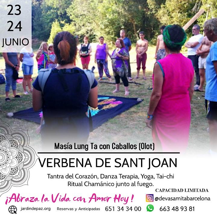 Imagen de Verbena con Caballos-Masía Lung Ta (Olot)