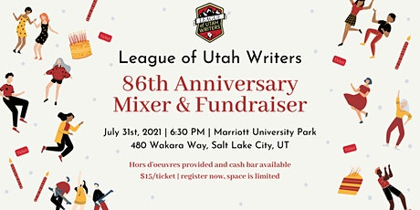 League of Utah Writers 86th Anniversary Mixer and Fundraiser tickets