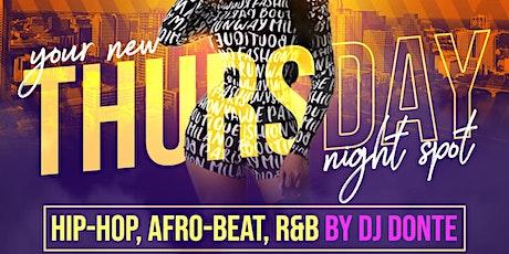 Rawshe Thursdays: Hip-Hop, Afro-Beat, R&B tickets