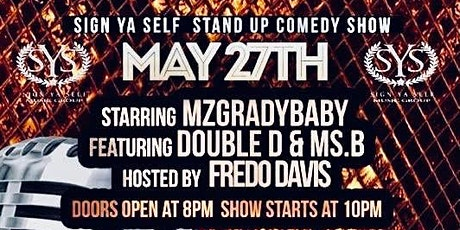 """""""Signyaself Stand up Comedy Show"""" tickets"""