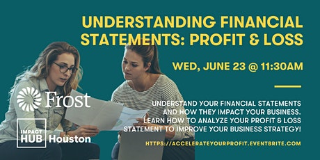 Understanding Financial Statements: Let's Talk About Your Profit & Loss! tickets