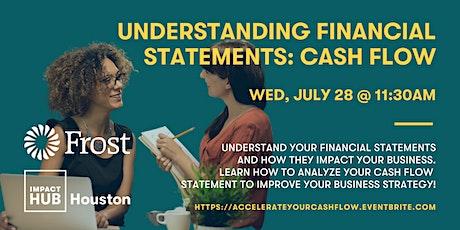 Understanding Financial Statements: Let's Talk About Your Cash Flow! tickets