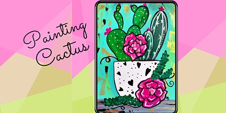 Virtual Paint Class: Painting Cactus tickets