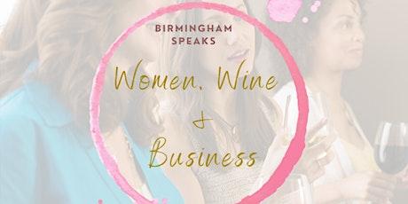 Women, Wine + Business tickets