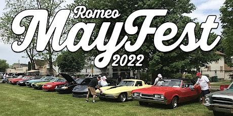 Romeo MayFest 2022 tickets