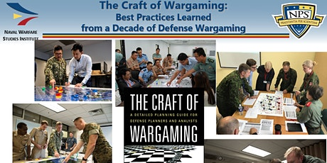 The Craft of Wargaming: Best Practices for Defense Wargaming tickets