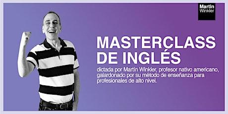 Masterclass de Inglés - trucos para alcanzar el nivel C1 rápidamente entradas