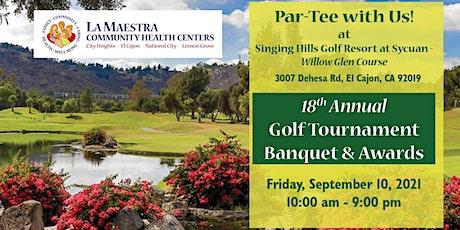 La Maestra's 18th Annual Golf Tournament tickets