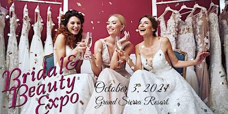 Reno Bridal & Beauty Expo, October 3, 2021, Grand Sierra Resort tickets