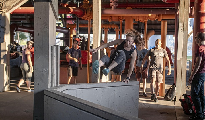 Fitness is Greater Outdoors - Kid-Friendly Parkour at Gas Works Park image