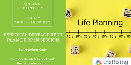 Personal Development Plan: Monthly drop-in session | The Rising Network tickets