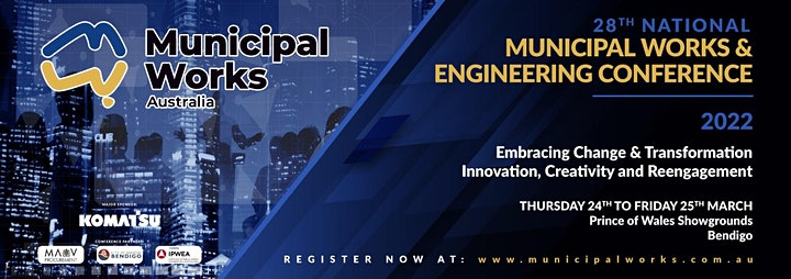 28th National Municipal Works and Engineering Conference image