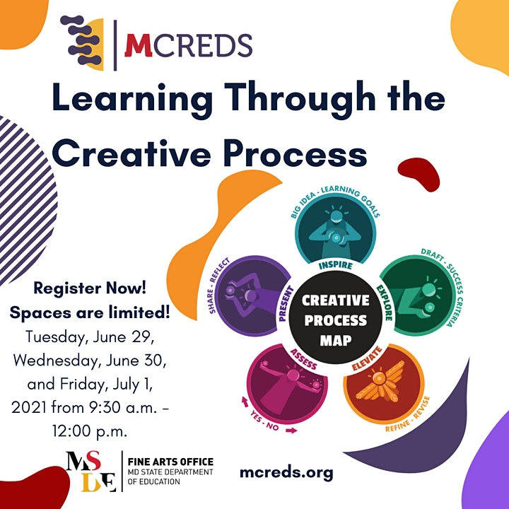 #mcred Learning Through The Creative Process image