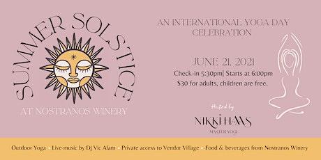 Summer Solstice at Nostranos Winery tickets