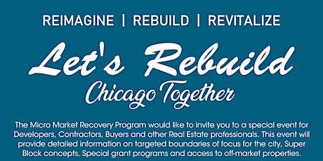 Let's Rebuild Chicago Together tickets