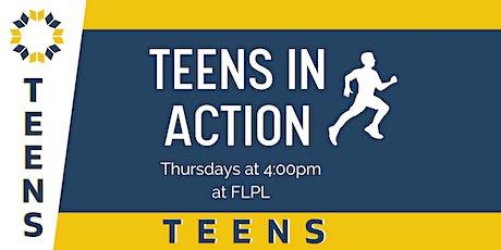 FLPL Teen SRP Teens in Action tickets