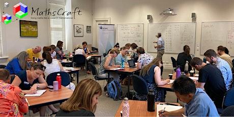 MathsCraft Professional Development Workshop tickets
