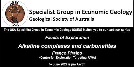 GSA Specialist Group in Economic Geology Facets of Exploration June Webinar tickets