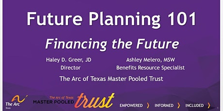 Session 4: Future Planning 101: Financing the Future tickets