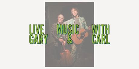 LIVE at El Camino: Gary Gorence and Carl Mori tickets