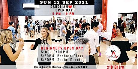 Bachata Class & Social Dancing - Dance Amor Open Day Sun 12 Sep 5 PM tickets