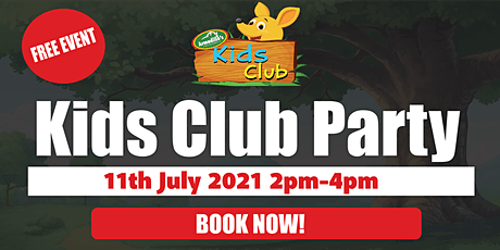 Greymouth Kids Club Party tickets