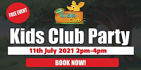 Timaru Kids Club Party tickets
