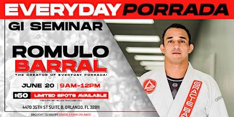 Romulo Barral Jiu-Jitsu Seminar tickets