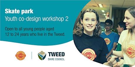 Youth co-design workshop | Skate park | Online tickets