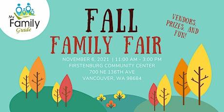 Fall Family Fair tickets