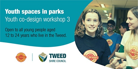 Youth co-design workshop   Youth spaces in parks   Online tickets