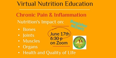 Nutrition and Chronic Pain & Inflammation tickets