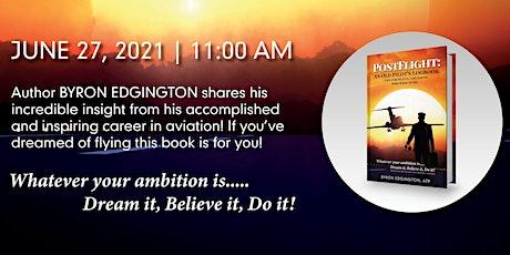 Official Book Launch- POSTFLIGHT: An Old Pilot's Logbook by Byron Edgington tickets