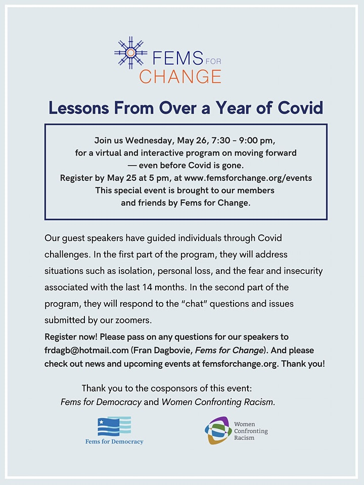 Lessons From Over a Year of Covid image