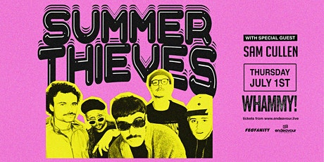 Summer Thieves Live at Whammy tickets