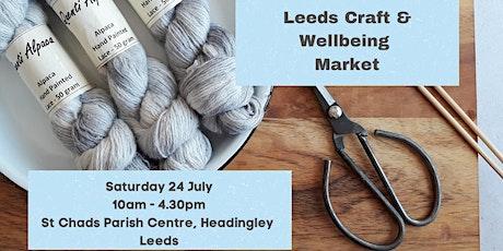 Leeds Craft and Wellbeing Market tickets
