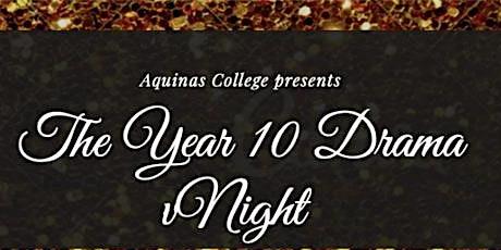 AQ Year 10 Drama Night tickets