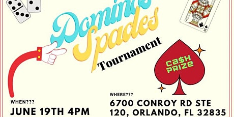 Dominoes and Spades Tournament tickets